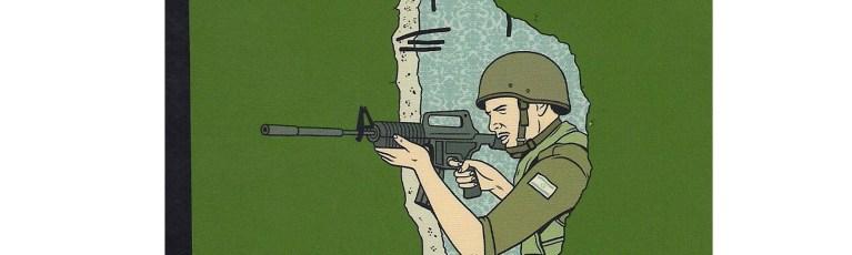 A través de los muros de los territorios palestinos.