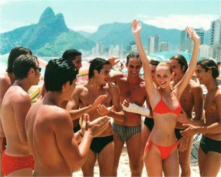 De carnaval y sudor en Rio de Janeiro.