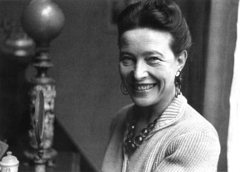 Simone de Beauvoir,  Sacudete en tu cripta: Nous sommes le nouvelles féministes américaines