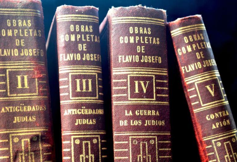 ¿Quién chucha es Flavio Josefo?
