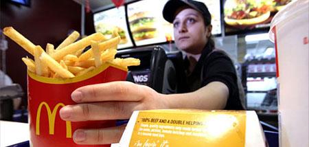 El cuico que trabajaba en el McDonald's