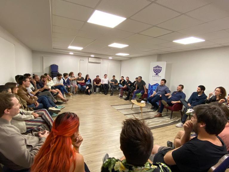 Inédito conversatorio plural y crítico de  jóvenes judíos en Chile