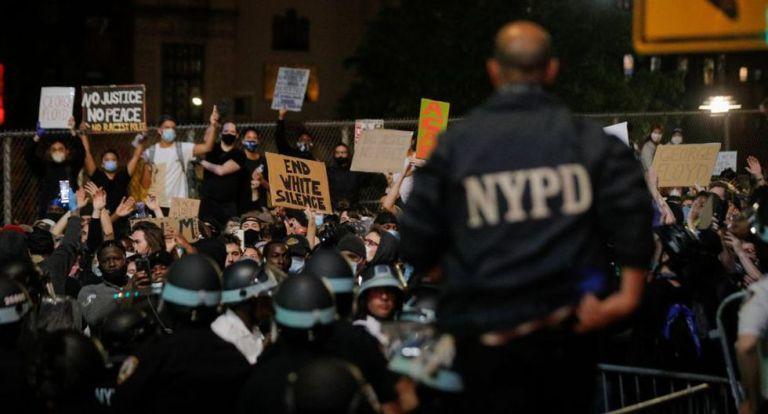 Privilegiados en NY protestan rompiendo el toque de queda