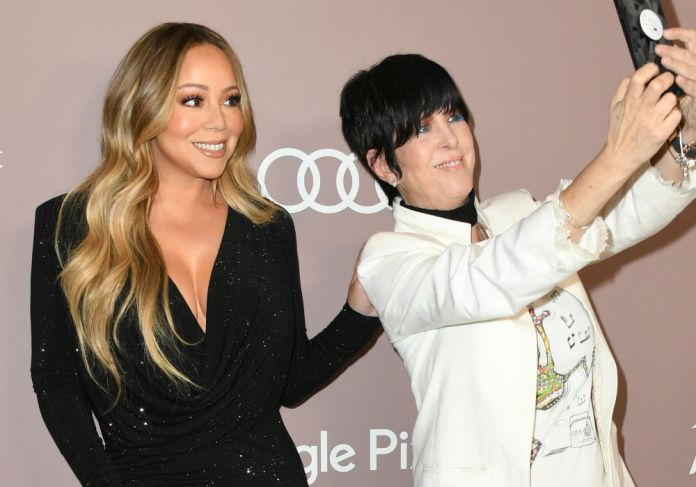 Mariah Carey goes from diva and pushes another celebrity