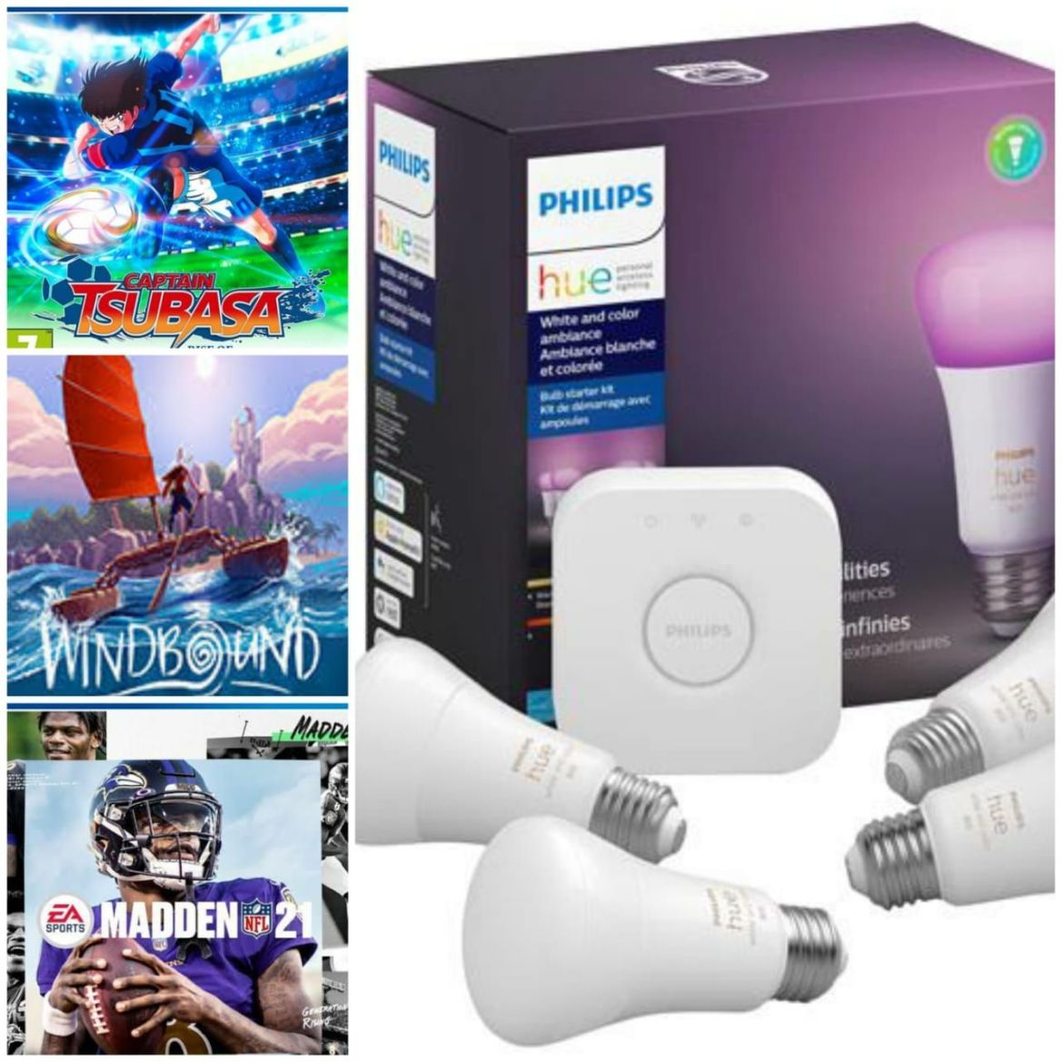 Reseña de Captain Tsubasa: Rise of New Champions, Madden NFL 21, Windbound y Philips Hue