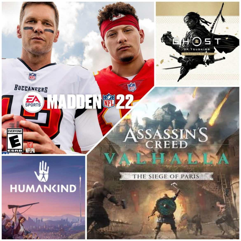 Review: Ghost of Tsushima Director's Cut, Madden NFL 22, Humankind y Assassin's Creed Valhalla: El asedio de París