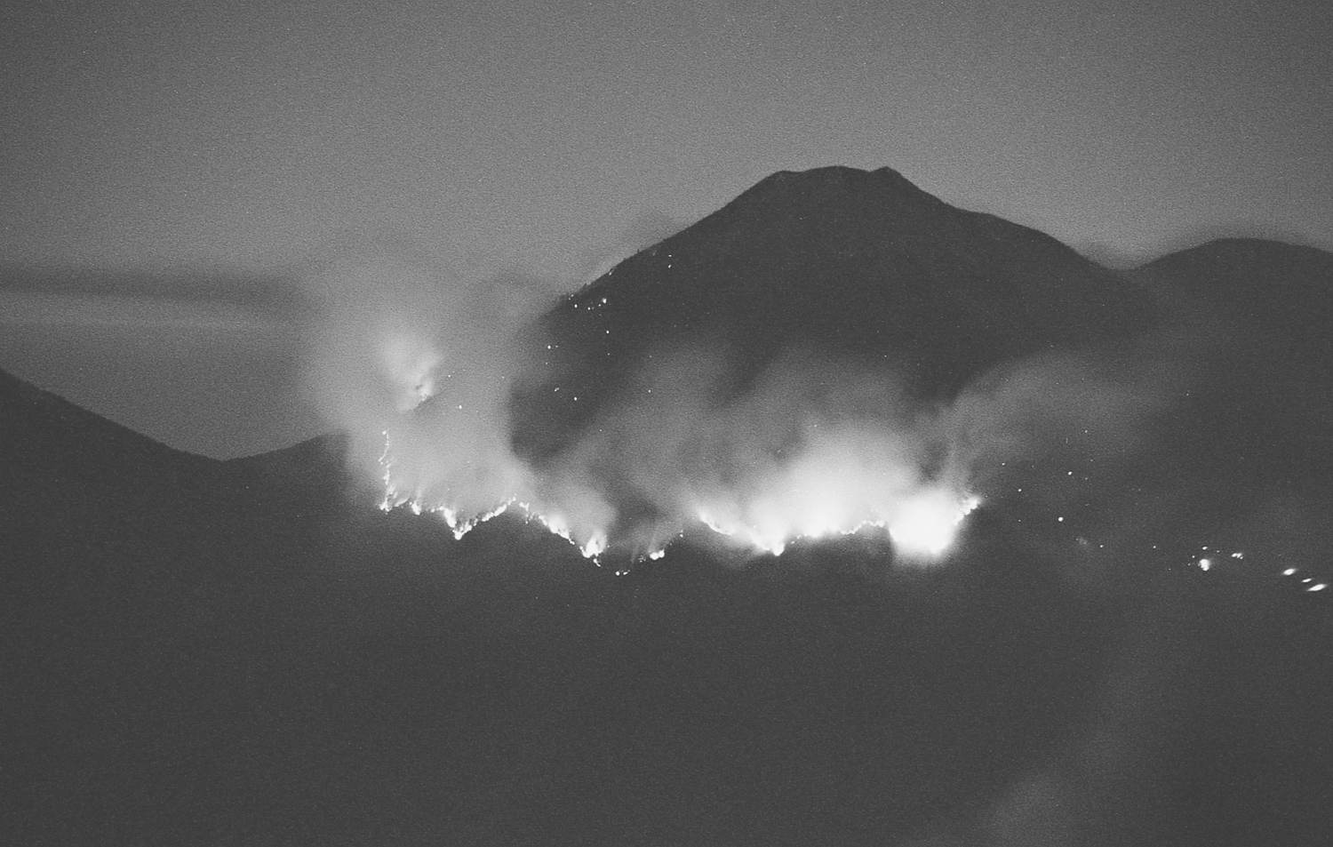The Fire on the Next Mountain Over