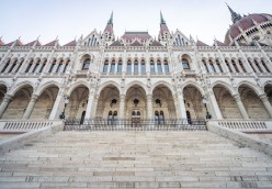 Hungarian Parliament Building - River Side
