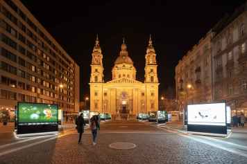 Road to St. Stephen's Basilica
