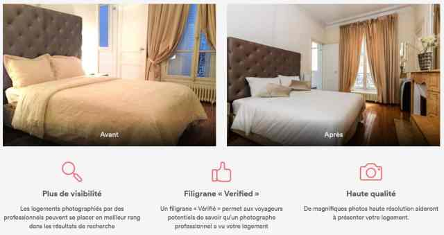 photographe airbnb site internet