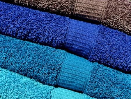 serviettes de bains hébergement