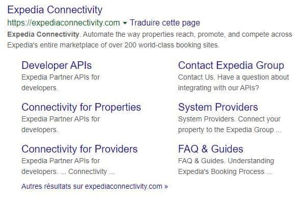 Expedia connectivity offre des outils aux développeurs web pour développer des applications autour de l'expedia group partner central