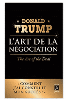 livre de Donald Trump et Tony Schwartz