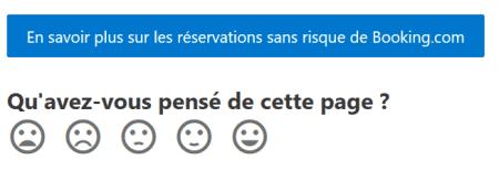 reservation sans risque