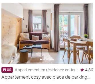 Exemple d'annonce taguée Airbnb Plus