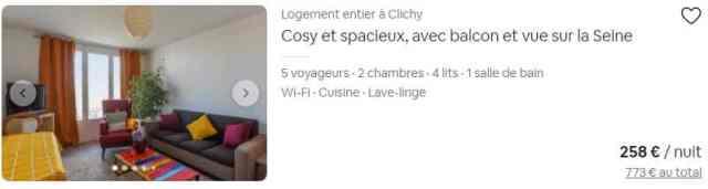 Descriptif précis des atouts de l'appartement dans le titre d'une annonce