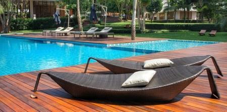 piscine pour la location saisonnière