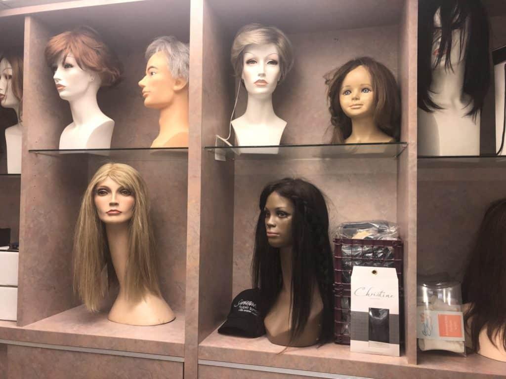 Image of wigs on Eldorado Hair website
