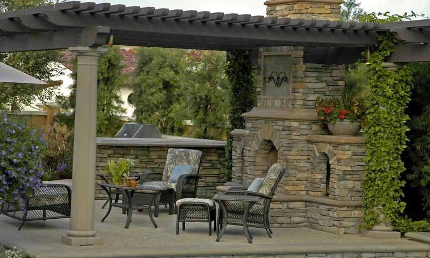 Sanctuary in the City - Eldorado Stone on Sequoia Outdoor Living id=95647