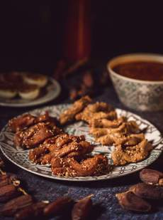 chebakia pâtisserie marocaine du ramadan