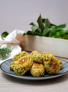 Nuggets Végétariens à la courgette et au parmesan