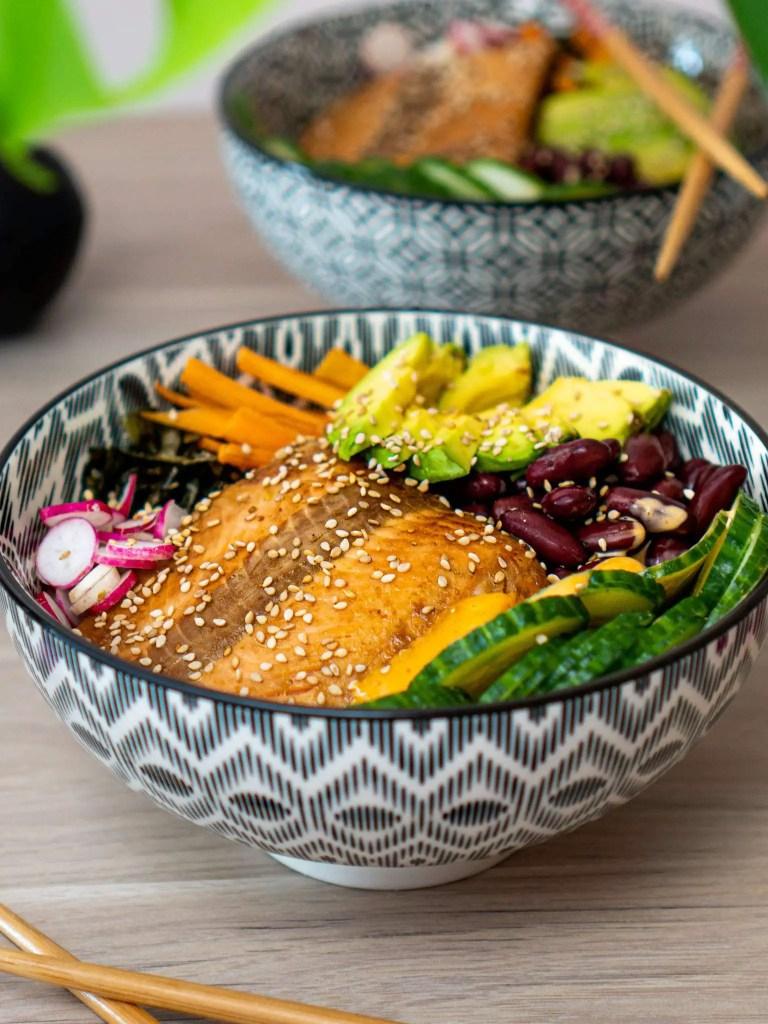 Sushi Bowl Saumon