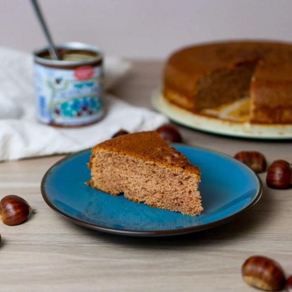 l'ardéchois, gâteau à la crème de marrons
