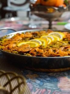 Paella Poulet Fruits de Mer facile