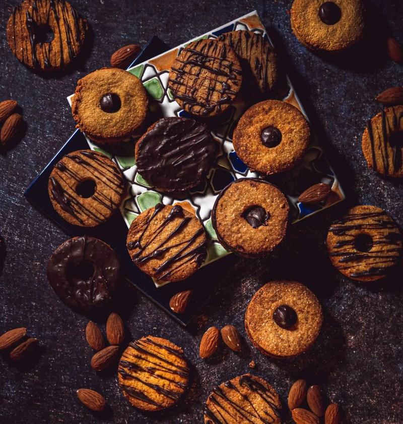 biscuit sablé sans gluten à la poudre d'amande