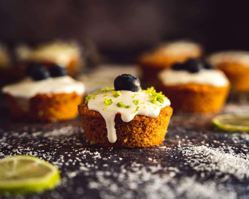 Carrot cake façon muffin