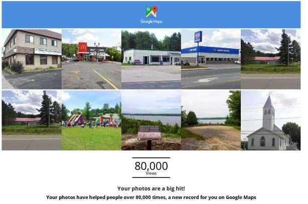 Your photos reached a new record on Google Maps! b_w