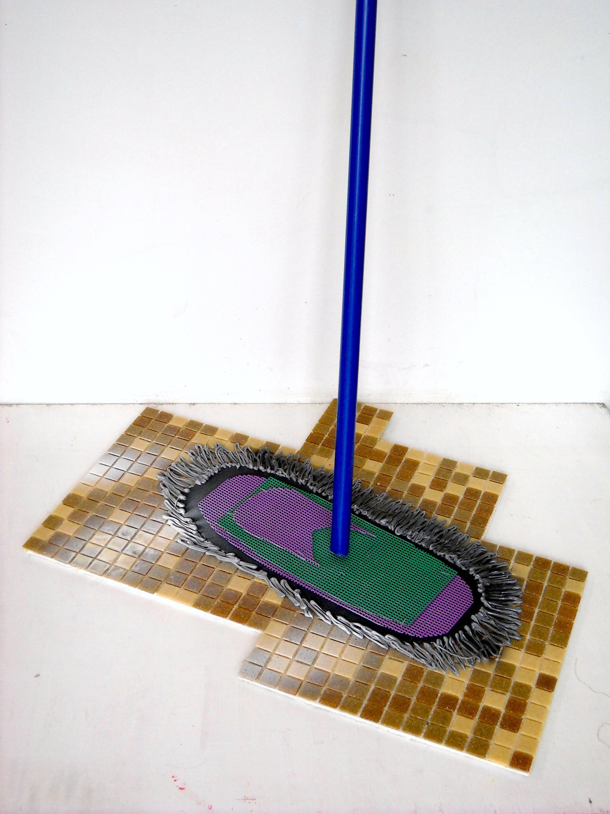 Dust Mop (with Utilitarian Tile) | Eleanor Aldrich