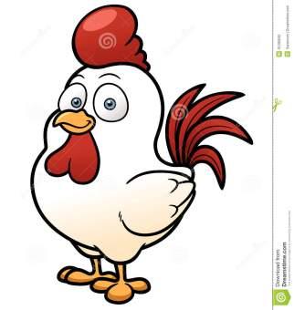 cartoon-chicken-vector-illustration-31290032