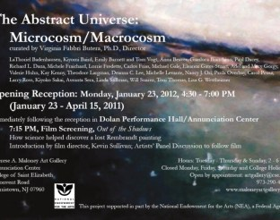 'The Abstract Universe: Microcosm/Macrocosm': Group Exhibition, Eleanor Gates-Stuart. Therese A Maloney Gallery USA