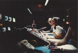 Directing in studio