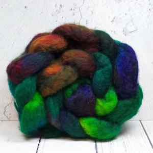 BFL wool top roving