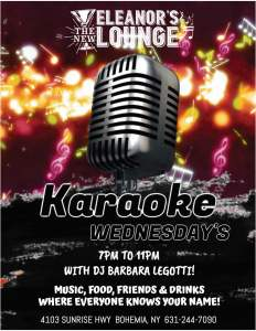 Karaoke Wednesday @ Bohemia | New York | United States