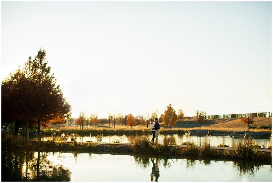 Railroad Park silhouette