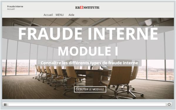 Fraud Interne e-learning