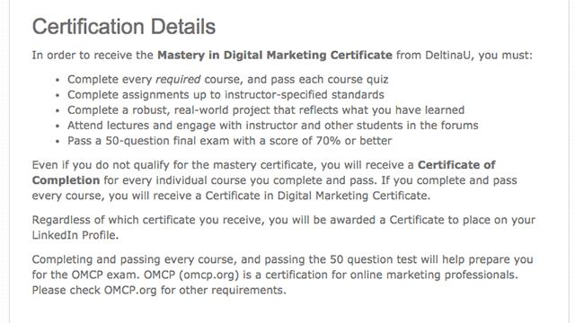 Certificate Program 4
