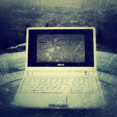 A dead netbook