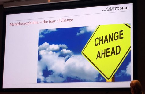 Fear of change