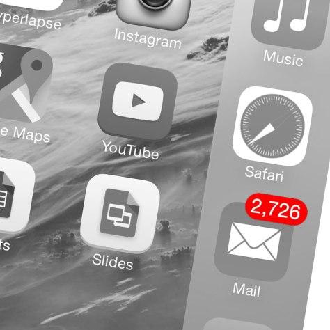 iOS e-mail