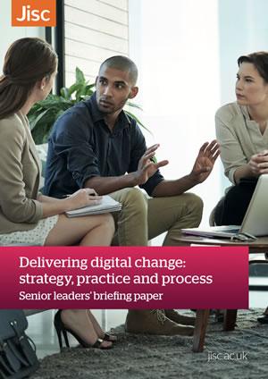 Jisc Senior leaders' briefing paper