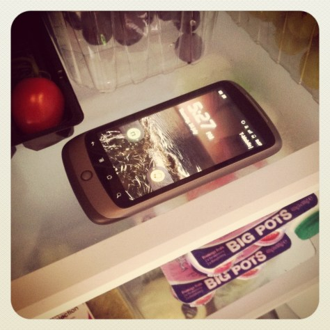 my Google Nexus One got so hot I had to put it in the fridge....