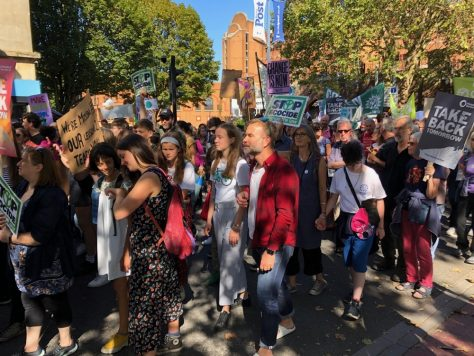 Climate Change march in Bristol