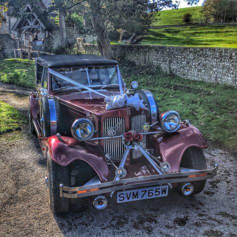 Wedding Car by James Clay