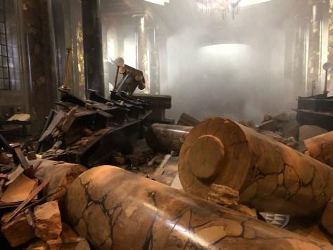 Gringotts Bank in ruins