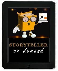 Storyteller on demand logo