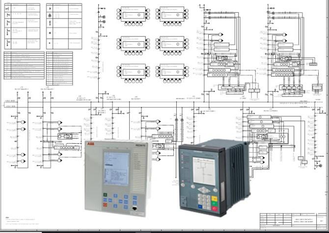 7sj82 single line diagram – electrical engineering